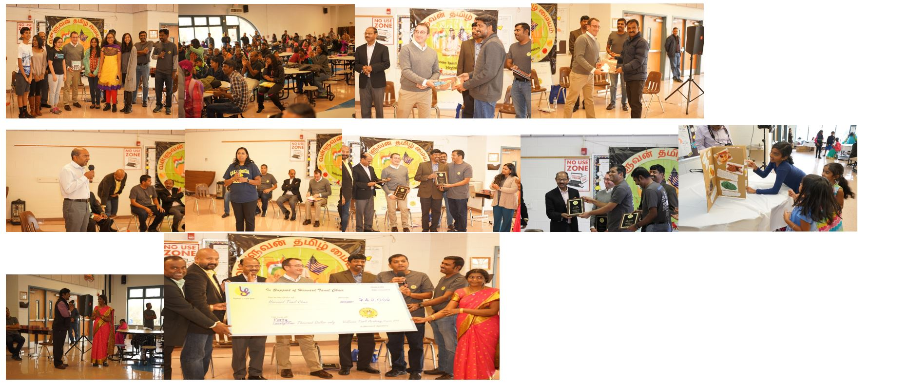Thanks for supporting the Tamil school